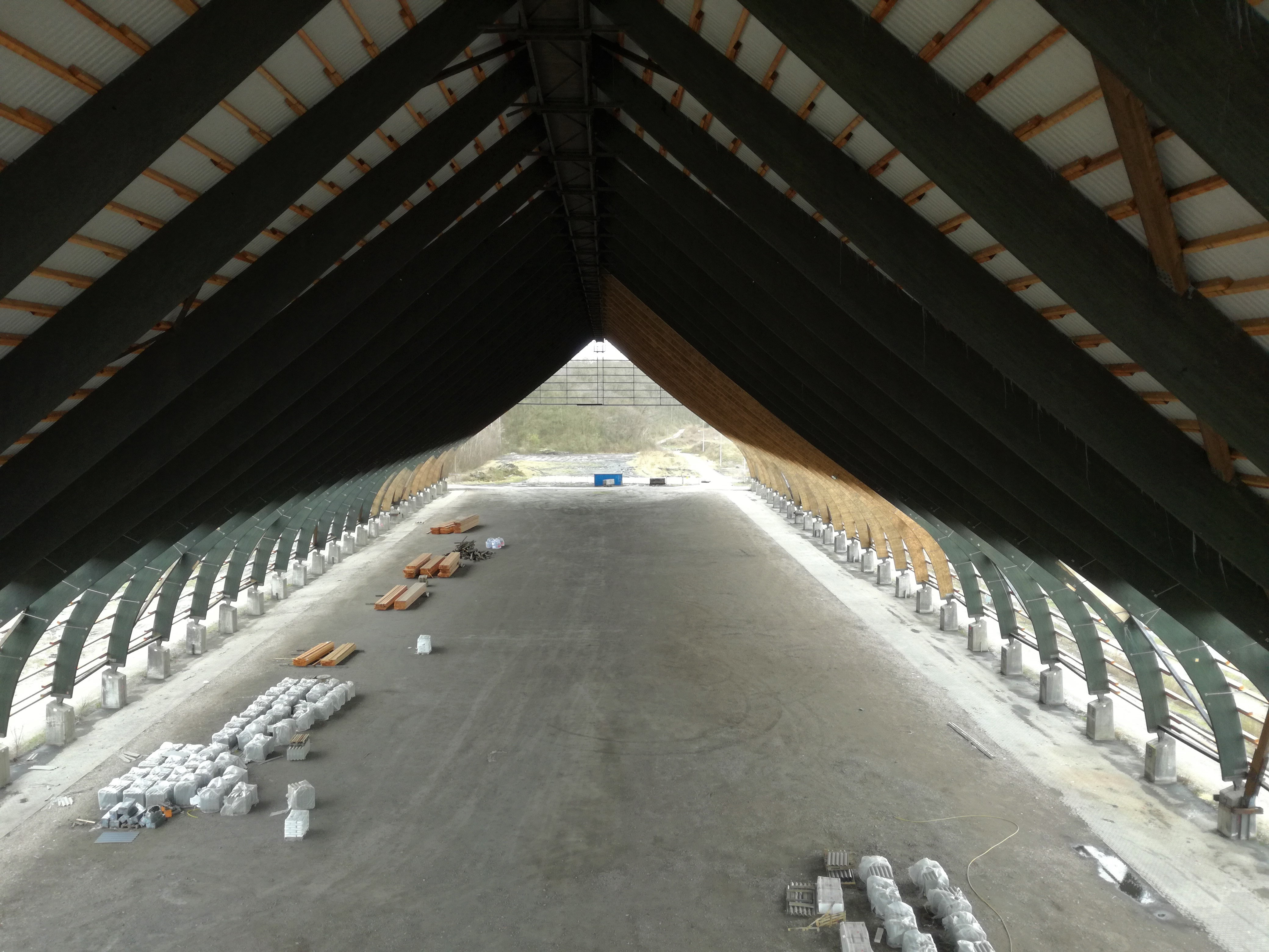 Kohlenmischhalle